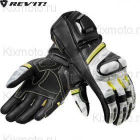 Перчатки Revit League, Черно-бело-желтые