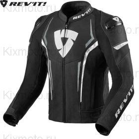 Мотокуртка Revit Glide, Черно-бело-серая