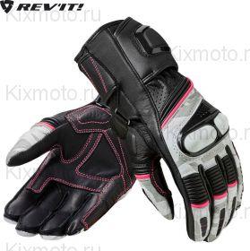 Перчатки женские Xena 3 Ladies, Черно-бело-розовые
