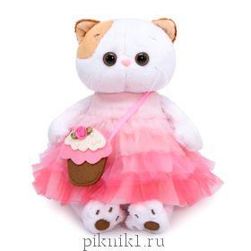 Кошечка Ли-Ли с сумочкой-пирожным 24 см.
