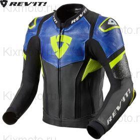 Куртка Revit Hyperspeed Pro, Черно-сине-желтая