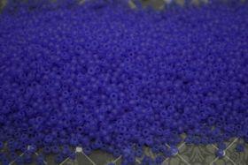 Бисер чешский 30030 прозрачный синий матовый Preciosa 1 сорт