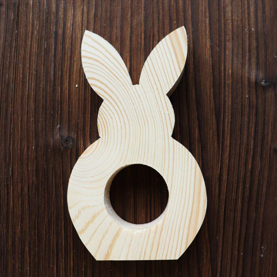 Заготовка кролик, массив сосны, 12,5 см*2 см