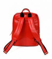Hadley Hatton Ultra Red кожаный рюкзак