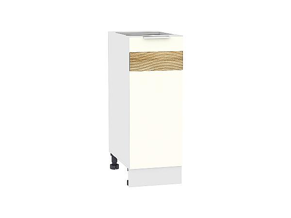 Шкаф нижний Терра Н300 D (Ваниль софт)