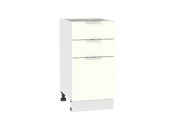 Шкаф нижний Терра Н403 (Ваниль софт)