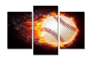 Модульная картина Бейсбольный мяч
