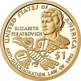 Закон о борьбе с дискриминацией на Аляске1 доллар США  2020  Монетный двор на выбор