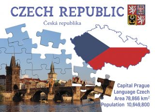 Почтовая открытка Step to the Czech Republic