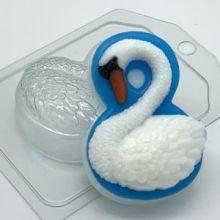 """Форма пластиковая для мыла и шоколада """" 8 Марта / Лебедь"""""""