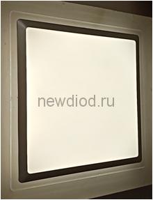 Управляемый светодиодный светильник ARION RGB S8134 72Вт-5700Лм 530мм пульт 6/3/4000K Oreol