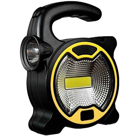 Кемпинговый фонарь COB T-915, желтый