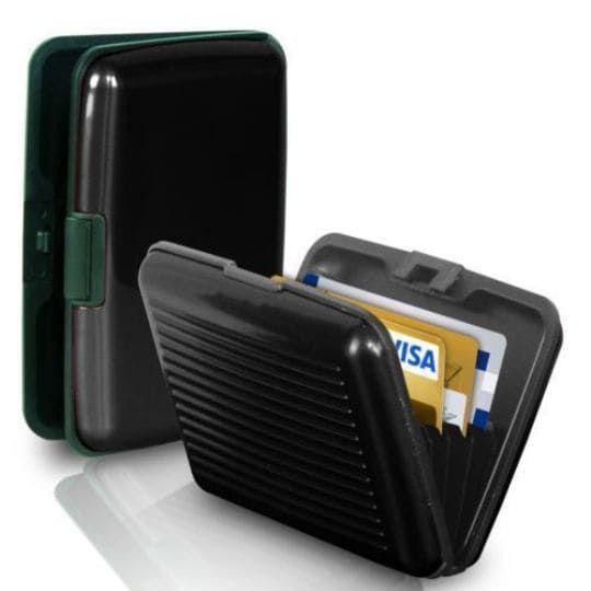 Бокс для кредитных карт Security Credit Card Wallet, черный