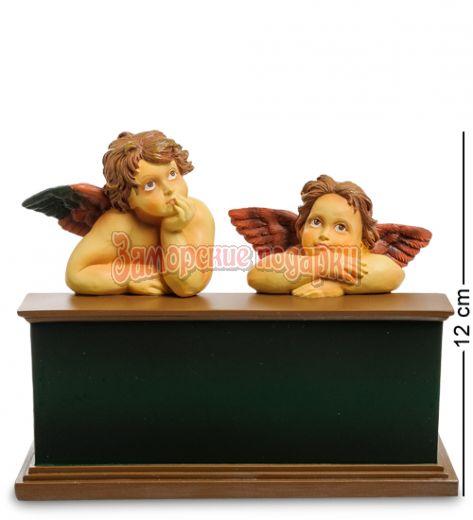 "pr-AN10 Статуэтка Ангелочки ""Сикстинская Мадонна"" Рафаэль (Museum.Parastone)"