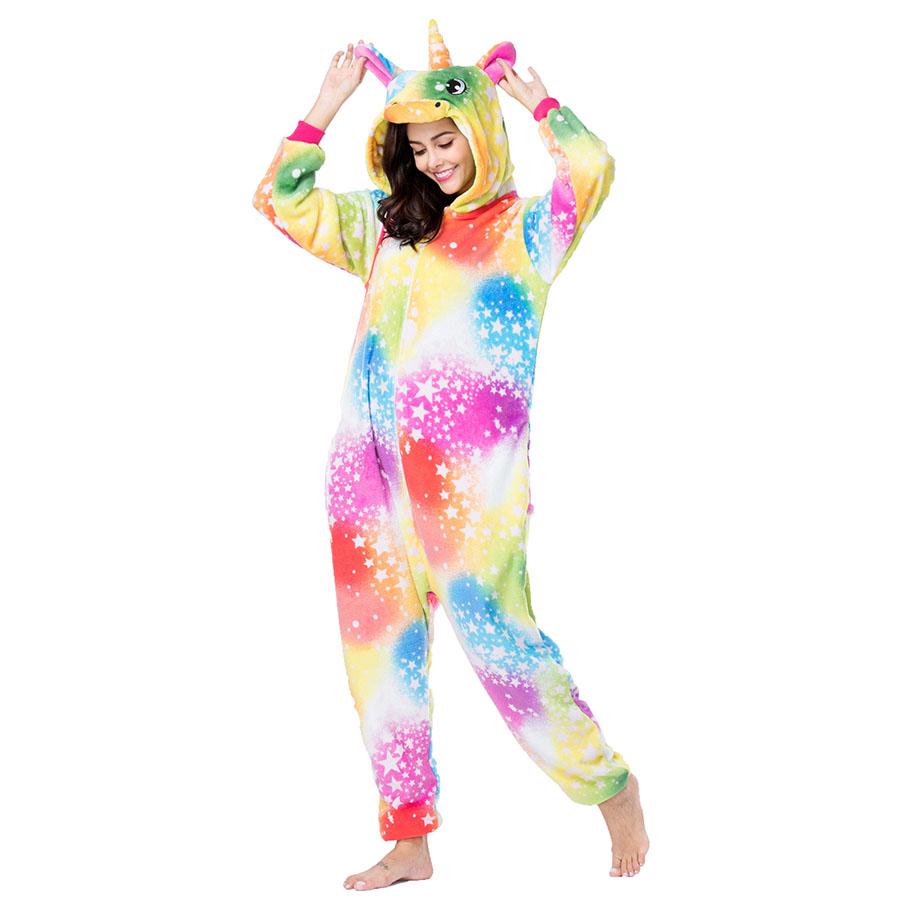 Пижама Кигуруми Единорог Салют