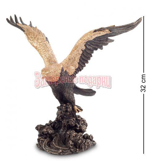 """WS-695/ 2 Статуэтка """"Орел на охоте"""""""