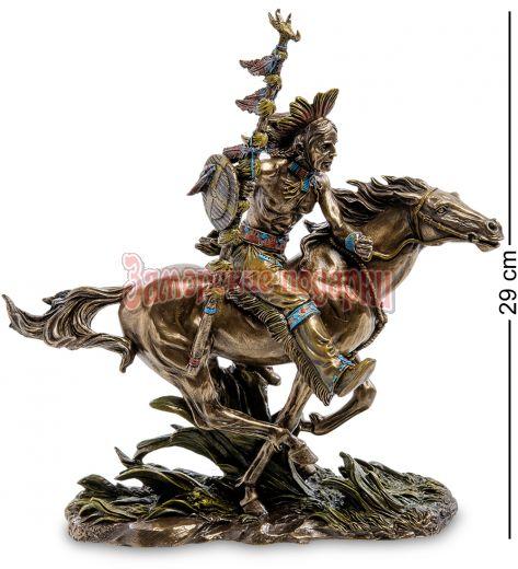 "WS-438 Статуэтка ""Индеец на коне"""