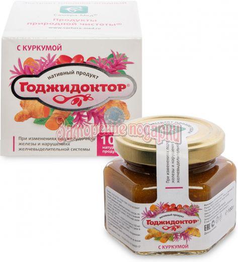"""MED-08/14 """"Годжидоктор"""" Экстракт плодово-ягодный с семенами расторопши, 100 г"""