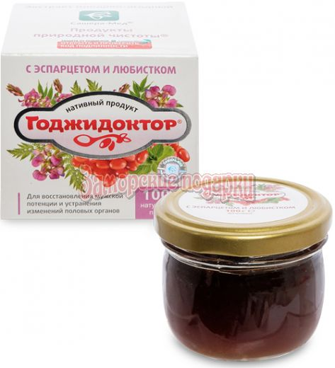 """MED-08/16 """"Годжидоктор"""" Экстракт плодово-ягодный с лавром благородным, 100 г"""