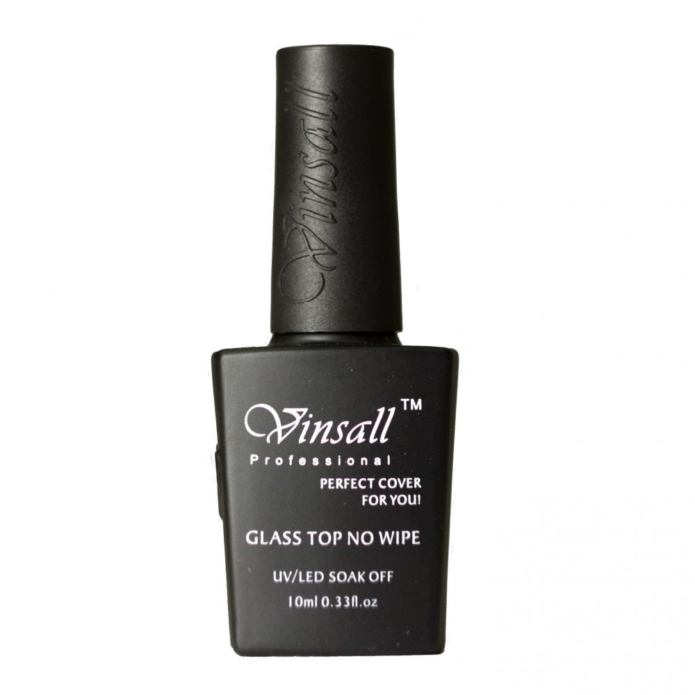 Vinsall Glass Top No Wipe, Топ без липкого слоя, 10 мл