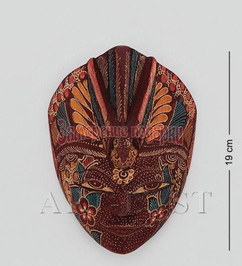 "10-003 Маска ""Райская птица"" (батик, о.Ява) 20 см"