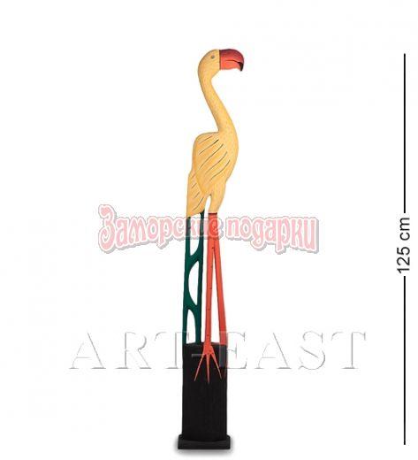 """90-014 Статуэтка """"Желтый Фламинго"""" 125 см"""