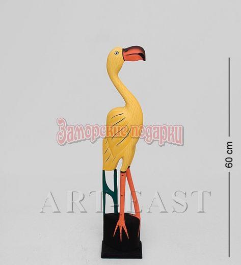 """90-017 Статуэтка """"Желтый Фламинго"""" 60 см"""