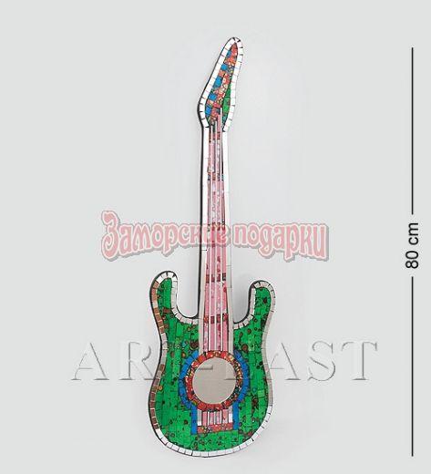 """38-002 Панно """"Гитара"""" ср. (мозаика, о.Бали)"""