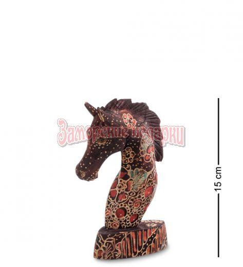 """10-013-01 Фигурка """"Лошадь"""" (батик, о.Ява) мал 15 см"""