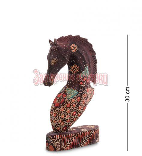 """10-013-03 Фигурка """"Лошадь"""" (батик, о.Ява) бол 25 см"""
