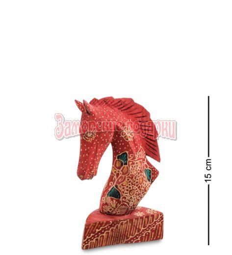 """10-014-01 Фигурка """"Лошадь"""" (батик, о.Ява) мал 15 см"""