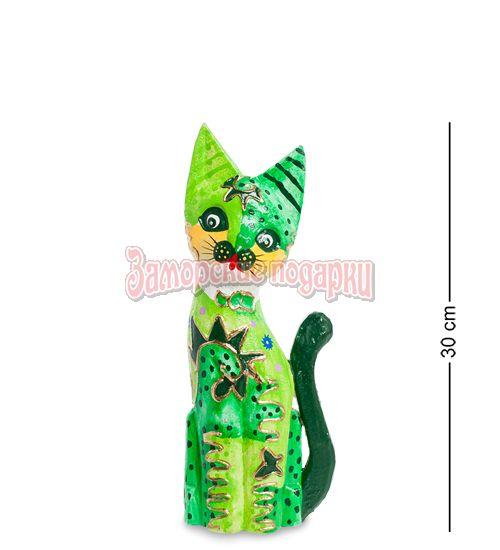 """99-288 Статуэтка """"Кошка"""" 30 см (албезия, о.Бали)"""