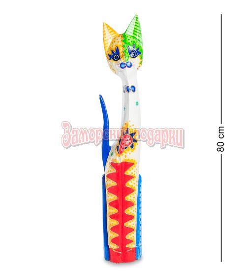 """99-270 Статуэтка """"Кошка"""" 80 см (албезия, о.Бали)"""