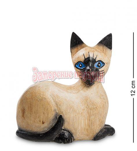 """40-023 Статуэтка """"Кошечка Голубоглазка"""" суар 12 см"""