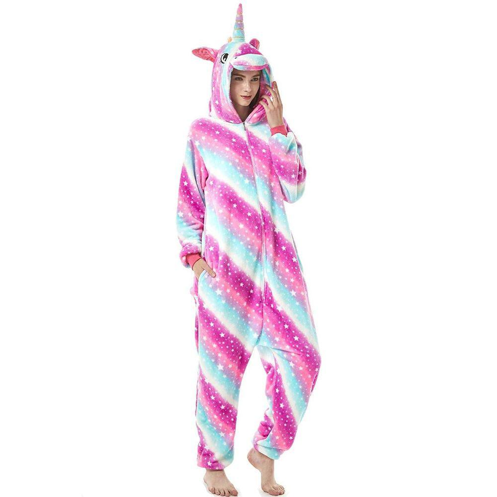 Пижама Кигуруми Единорог Звездно-Радужный