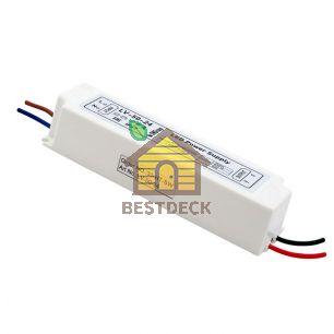 Блок Питания для ленты IP 67 пластик 50 W, 24V