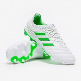 Детские футбольные бутсы adidas Copa 19.1 FG белые