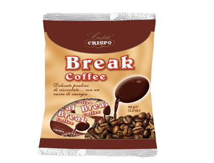 Конфеты Брейк 90 гр., Break coffee busta Crispo gr. 90
