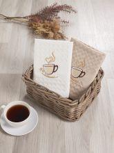 Комплект вафельных полотенец SALVA (45*65)*2  Арт.3477-3