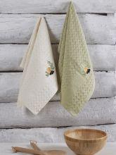 Комплект вафельных полотенец BELDI (45*65)*2  Арт.3478-2