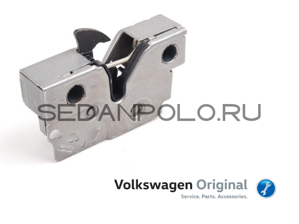 Замок капота Volkswagen Polo Sedan Оригинал VAG