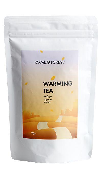 Черный чай с имбирем и корицей, 75г Royal Forest