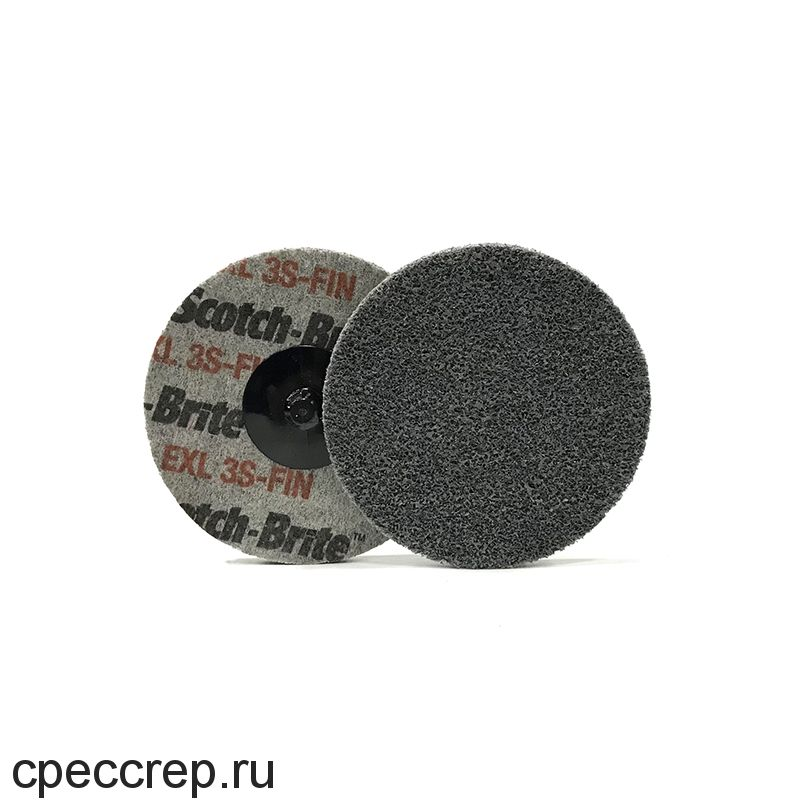 Быстросъёмный нетканый прессованный круг ROXPRO 75х6мм, 6A, Medium