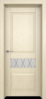 Межкомнатная дверь L 10 стекло Рим