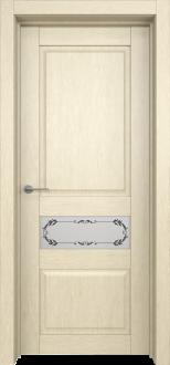 Межкомнатная дверь L 10 стекло Фрезия