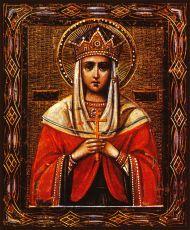 Икона Святая благоверная царица Грузии Тамара