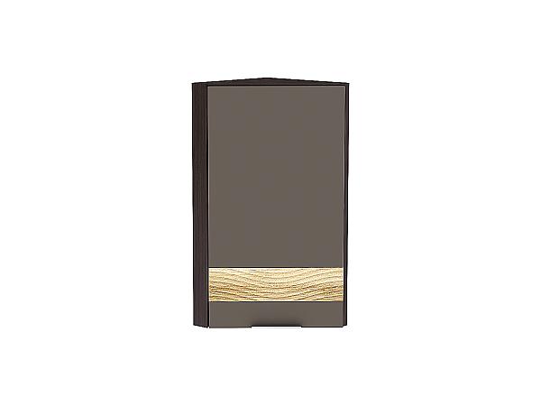 Шкаф верхний торцевой Терра ВТ230 D (Смоки софт)