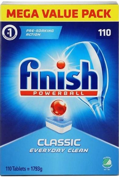 Таблетки для п. машины Finish Classik 110 шт