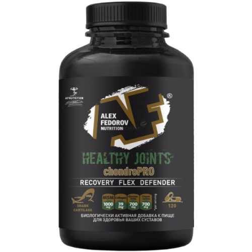 Alex Fedorov Nutrition Healthy Joints 2.0 120 капс
