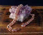 """Позолоченный браслет, плетение """"бисмарк"""", 8 мм (арт. 250240)"""